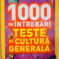 1000 DE INTREBARI, TESTE DE CULTURA GENERALA, VOL IV, 2015 - Carte Psihologie