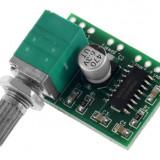 Modul PAM8403 / Amplificator audio 2 x 3W cu potentiometru de volum