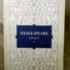 SHAKESPEARE-Opere 1-Regele Ioan Comedia erorilor Romeo si Julieta - Carte Teatru