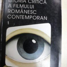 ISTORIA CRITICA A FILMULUI ROMANESC CONTEMPORAN-VALERIAN SAVA, BUCURESTI 1999 - Carte Teatru