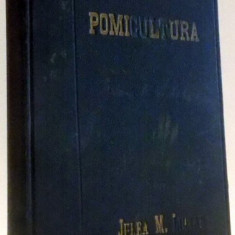 POMICULTURA de JELEA M. LUCIAN, 1933 - Carte Biologie