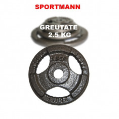 Greutate haltera 2.5kg/31mm Hammerton Sportmann, Discuri greutati