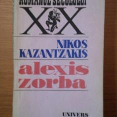 ALEXIS ZORBA- NIKOS KAZANTZAKIS, BUC. 1987 - Nuvela