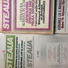 STEAUA REVISTA A UNIUNII SCRIITORILOR LOT 5 REVISTE LITERATURA ARTA CULTURA RSR