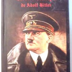 MEIN KAMPF de ADOLF HITLER, BUCURESTI - Istorie