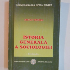 ISTORIA GENERALA A SOCIOLOGIEI de STEFAN COSTEA, 2004 - Carte Sociologie