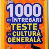 1000 DE INTREBARI, TESTE DE CULTURA GENERALA, VOL V, 2016 - Carte de povesti