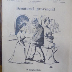 I. L. Caragiale, Moftul Roman, Nr. 20, 12 august 1901
