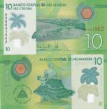 Nicaragua 10 Cordobas 2015 UNC