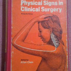 Demonstrations of Physical Signs in Clinical Surgery - Hamilton Bailey's, Alta editura