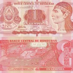 Honduras 1 Lempira 01.03.2012 UNC - bancnota america