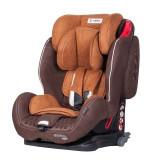 Scaun auto Sportivo cu Isofix Brown Coletto, 1-2-3 (9-36 kg)