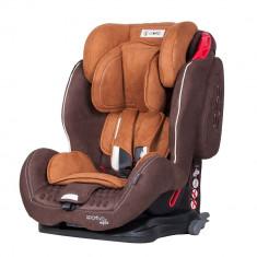 Scaun auto Sportivo cu Isofix Brown Coletto - Scaun auto copii Coletto, 1-2-3 (9-36 kg)