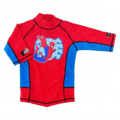 Tricou de baie Spiderman marime 122-128 protectie UV Swimpy