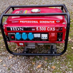 Generator HDN 5.500 EM CXS - Generator curent