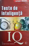 TESTE DE INTELIGENTA IQ - Russell, Carter (volumul 1)