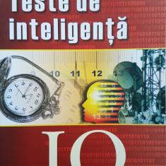 TESTE DE INTELIGENTA IQ - Russell, Carter (volumul 1) - Carte Psihologie