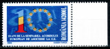 Romania 2003, LP 1603, 10 ani de la Acordul UE, MNH! LP 25,00 lei, Organizatii internationale, Nestampilat