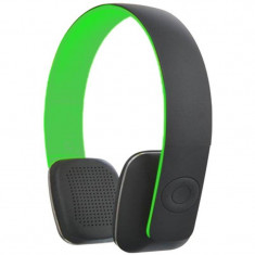 Casti Microlab T2 Bluetooth Green, Casti On Ear