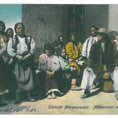 4015 - Maramures, ETHNICS - old postcard, CENSOR - used - 1916, Circulata, Printata