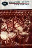 Alexandria * Esopia - cărţi populare
