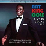 Nat King Cole - Live In Vegas 1962 ( 1 CD )