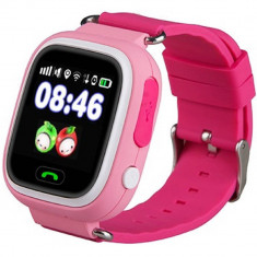 Smartwatch Star cu GPS SIM si Apel SOS Pink