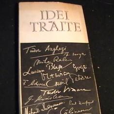 IDEI TRAITE-CARTE DE INTELEPCIUNE DE GEO SERBAN-221PG- - Carte Proverbe si maxime