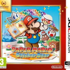 Joc consola Nintendo PAPER MARIO STICKER STAR SELECTS 3DS