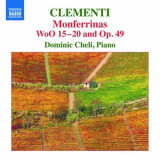 M. Clementi - Monferrinas Woo15-20 and ( 1 CD )
