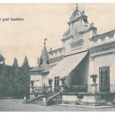 4009 - Mures, BETHLEN, Castelul din Cris - old postcard - used - 1916 - Carte Postala Transilvania 1904-1918, Circulata, Printata