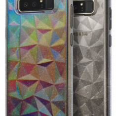 Husa Protectie Spate Ringke Prism Glitter Gray pentru Samsung Galaxy Note 8