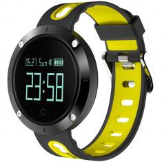 Smartwatch Star EM58 Monitorizare Tensiune IP68 Yellow / Black