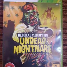 Red dead redemption Undead Nightmare xbox 360 - Jocuri Xbox 360