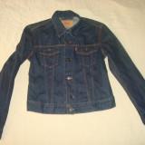 Geaca LEVIS jeans/blugi marimea M pentru fete/originala/noua/clasica