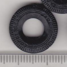 Bnk jc Cauciuc pentru Corgi 17 mm - negru - lot 4 cauciucuri