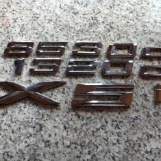 Cifre, litere portbagaj originale BMW 318, 320, 520, 530, X5, etc