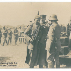 3995 - FOCSANI-ODOBESTI, Parada German King - old postcard, real PHOTO - unused - Carte Postala Moldova 1904-1918, Necirculata, Fotografie