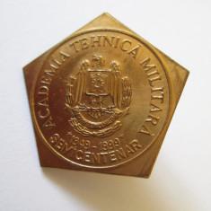 INSIGNA SEMICENTENAR ACADEMIA TEHNICA MILITARA 1949-1999