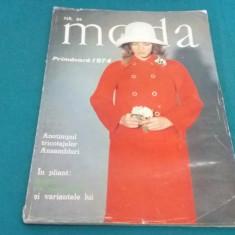 REVISTA MODA NR.84* PRIMĂVARĂ 1974