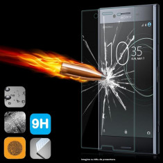 FOLIE de STICLA SONY Xperia XZ Premium 9H tempered glass securizata - Folie de protectie