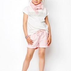 Sort roz lejer de vara pentru fete