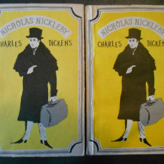 CHARLES DICKENS - NICHOLAS NICKLEBY 2 volume