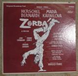 Zorbá (Original Broadway Cast),musical USA 1969 ,VG, vinil/vinyl