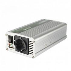 Invertor tensiune, Sal SAI 100USB, 12V DC/220V AC, 1000 W, USB, carcasa metal - Invertor Auto