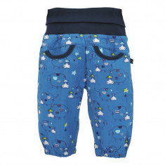 Pantaloni lejeri turcoaz pentru bebe