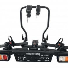 Suport biciclete Menabo Alphard pentru 2 biciclete cu prindere pe carligul de remorcare - Suport Bicicleta