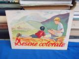 CARTE COPII ~ DESENE COLORATE - ANII '50-60