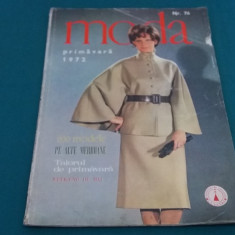REVISTA MODA NR.76* PRIMĂVARĂ 1972