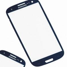 Carcasa (Sticla) Geam Samsung i9500 Galaxy S4 Blue Orig China